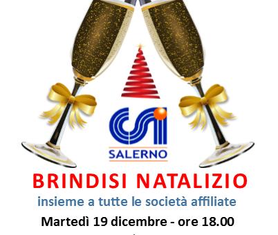 CSI Salerno: brindisi natalizio con tutte le societA� affiliate