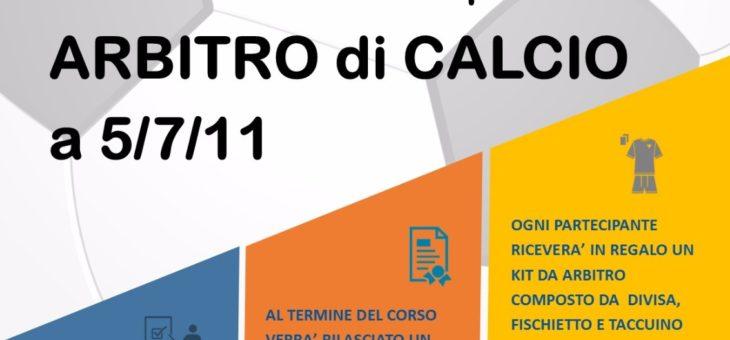 Formazione 2017/2018: Corso per arbitri di Calcio e Pallavolo