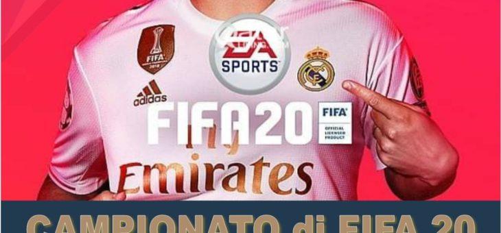 CAMPIONATO DI FIFA 2020